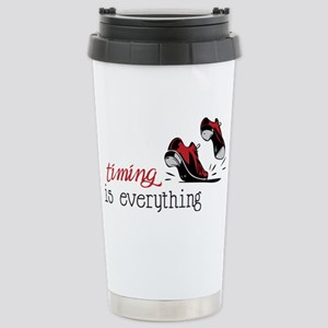 Timing Is Everything Stainless Steel Travel Mug