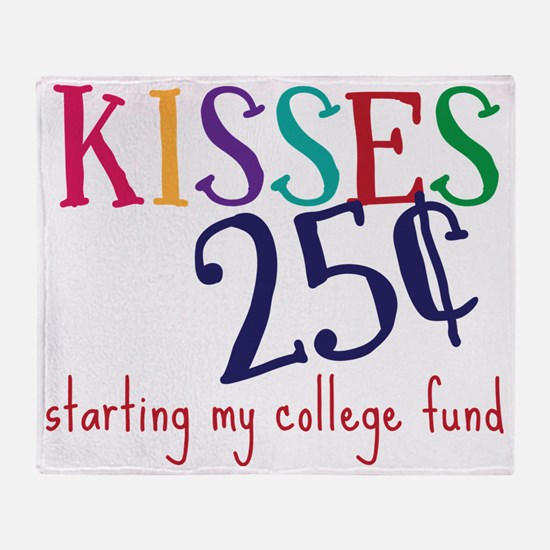 My College Fund Throw Blanket