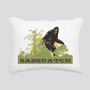 Sasquatch Rectangular Canvas Pillow