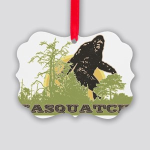 Sasquatch Picture Ornament