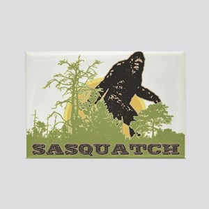 Sasquatch Rectangle Magnet