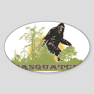 Sasquatch Sticker (Oval)