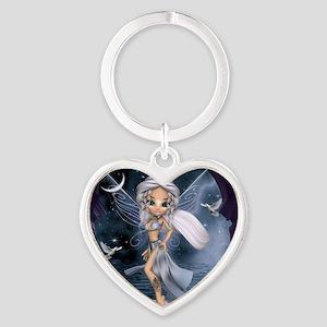 Goddess Aphrodite Fairy Heart Keychain