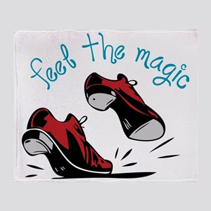 Feel The Magic Throw Blanket