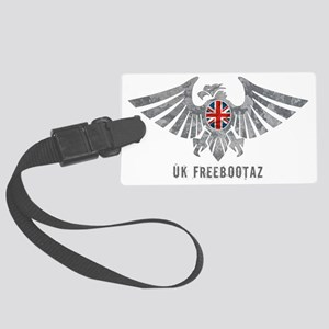 UK Freebootaz Large Luggage Tag