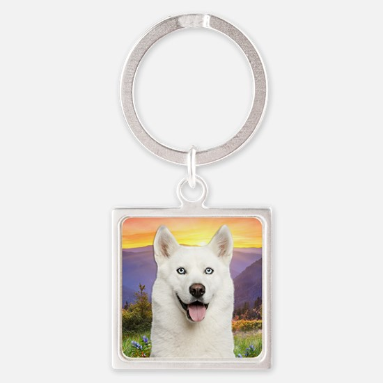 meadow(button)2 Square Keychain