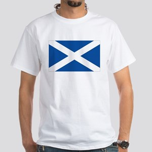 Scotish flag White T-Shirt
