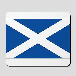 Scotish flag Mousepad