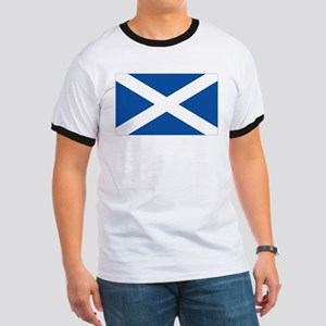 Scotish flag Ringer T