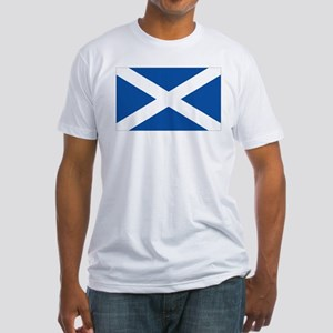 Scotish flag Fitted T-Shirt