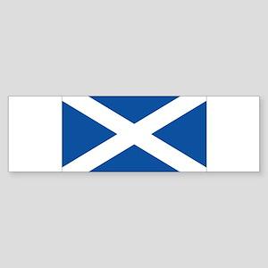 Scotish flag Bumper Sticker