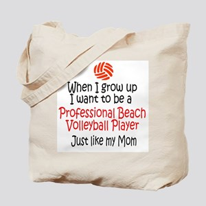 WIGU Pro Beach Volleyball Mom Tote Bag