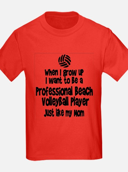 WIGU Pro Beach Volleyball Mom T