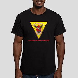 Marine Corps Air Stati Men's Fitted T-Shirt (dark)