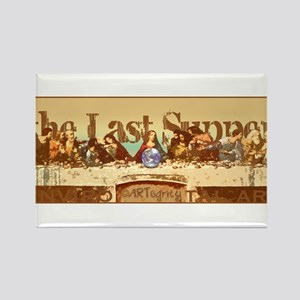 The Last Supper Rectangle Magnet