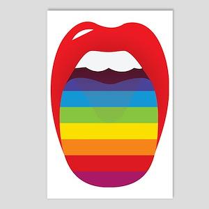 Lipstick Lesbian Dominati Postcards (Package of 8)