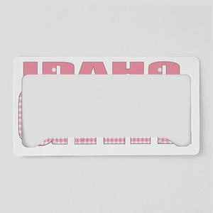 idaho License Plate Holder