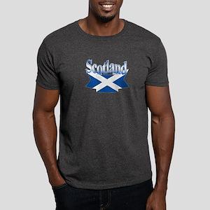 Scottish flag ribbon Dark T-Shirt
