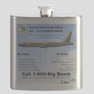B-52 Stratofortress SAC 1-800-Big-Bomb Flask