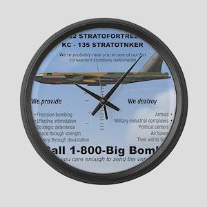 B-52 Stratofortress SAC 1-800-Big Large Wall Clock