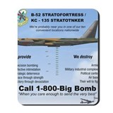 B 52 stratofortress Classic Mousepad