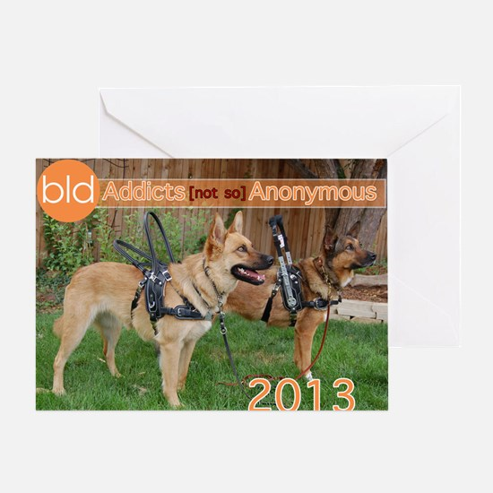 Bold Lead Designs Greeting Card