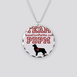 Team PDPM Necklace Circle Charm