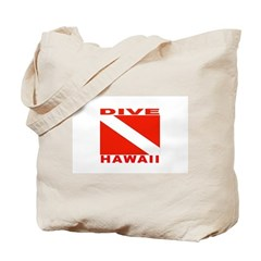 Dive Hawaii Tote Bag
