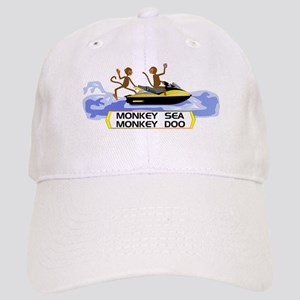 c251d3df02d Monkey To Stand Up Jet Ski Hats - CafePress