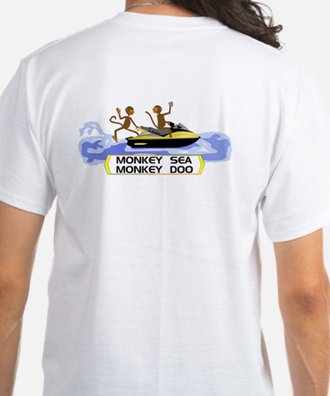 MonkeySea MonkeyDoo White T-Shirt