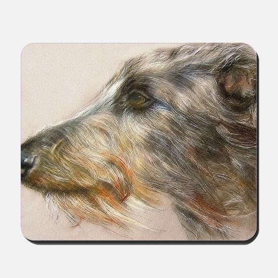Scottish Deerhound Pastel Mousepad