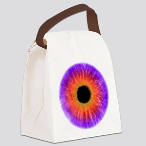 Iris Canvas Lunch Bag