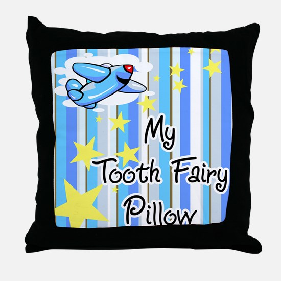 Airplane Tooth Fairy Pillow