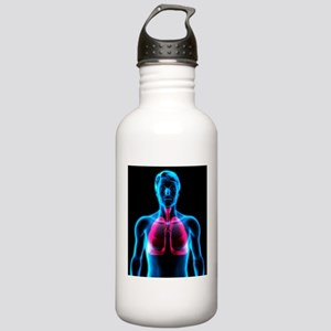 Lungs Stainless Water Bottle 1.0L
