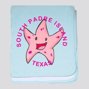 Texas - South Padre Island baby blanket