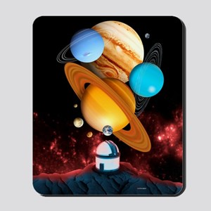 Observing the planets Mousepad