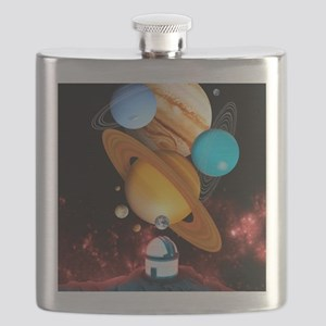 Observing the planets Flask