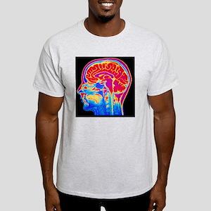 MRI scan of normal brain Light T-Shirt