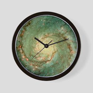 M51 whirlpool galaxy Wall Clock