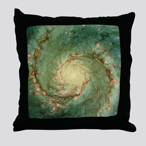 M51 whirlpool galaxy Throw Pillow
