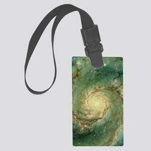 M51 whirlpool galaxy Large Luggage Tag