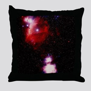 Optical image of Horsehead and Great  Throw Pillow