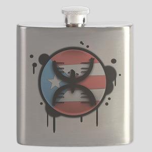 Graffitti Flask