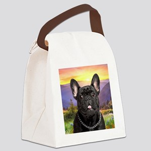 meadow(button)2 Canvas Lunch Bag