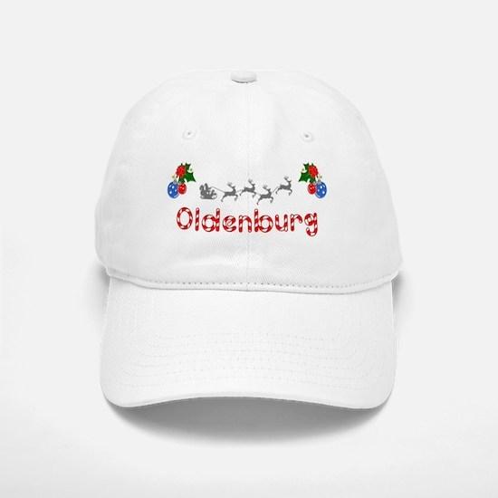 Oldenburg, Christmas Baseball Baseball Cap