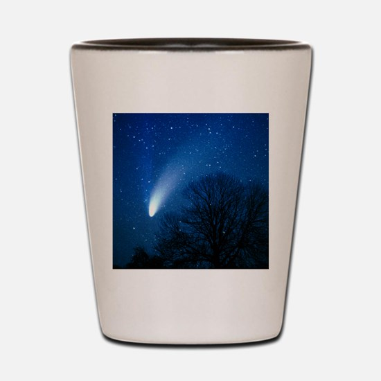 Optical image of comet Hale-Bopp, 6 Apr Shot Glass