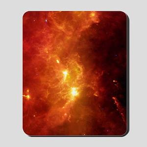 Orion nebula, infrared image Mousepad