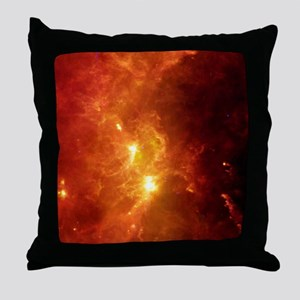 Orion nebula, infrared image Throw Pillow
