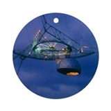 Arecibo observatory Round Ornaments