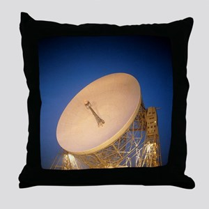 Night-time view of the Mark 1A radio  Throw Pillow